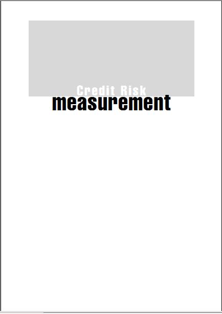 (Wiley Finance 142)Credit Risk Measurement-Ne