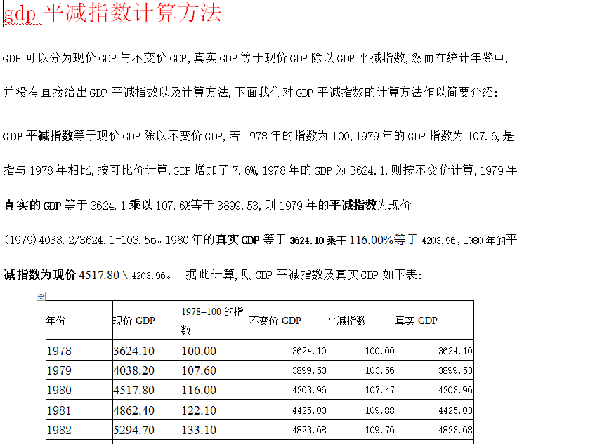 gdp计算规则问题_稳就业促销费是后续市场发展的主线
