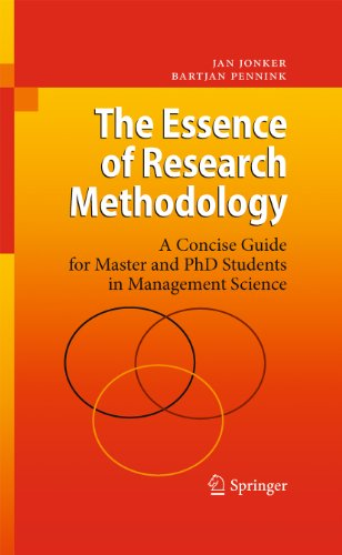 The Essence of Research Methodology Cover
